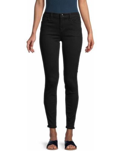 Зауженные черные джинсы-скинни с карманами True Religion
