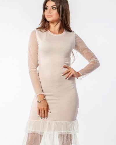 Розовое вечернее платье Margo