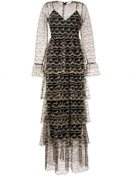 Платье макси на молнии с рукавами Alice Mccall