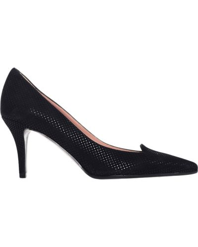 Кожаные туфли на каблуке замшевые Giorgio Fabiani