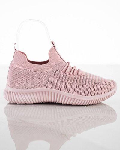 Różowe sneakersy na co dzień Mckeylor