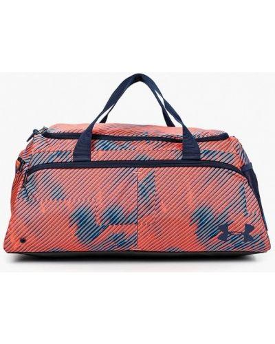Спортивная сумка коралловый оранжевый Under Armour