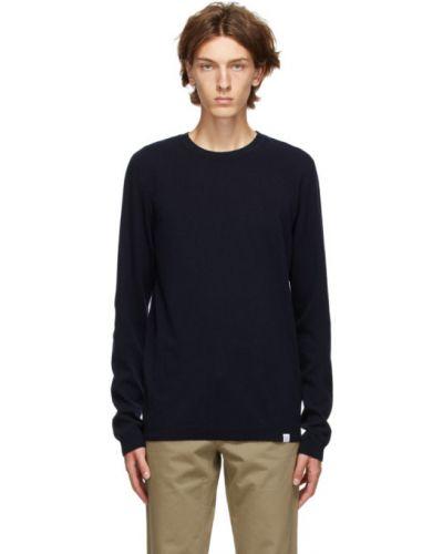 Sweter wełniany z długimi rękawami Norse Projects