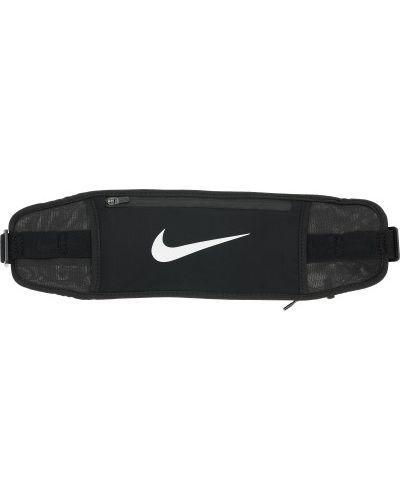 Черная нейлоновая поясная сумка Nike