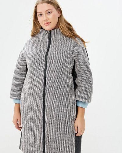 Утепленная куртка демисезонная черная Grand Madam