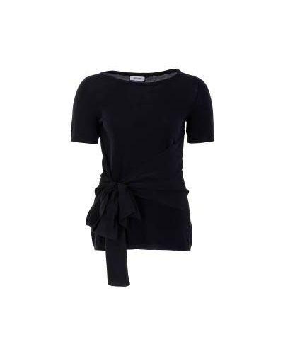 Черный джемпер шерстяной Moschino