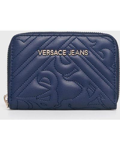 Джинсы mom синие Versace Jeans
