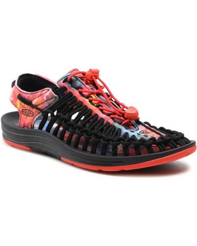 Czarne sandały na lato Keen