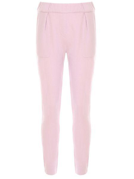 Спортивные брюки розовый с защипами Lorena Antoniazzi