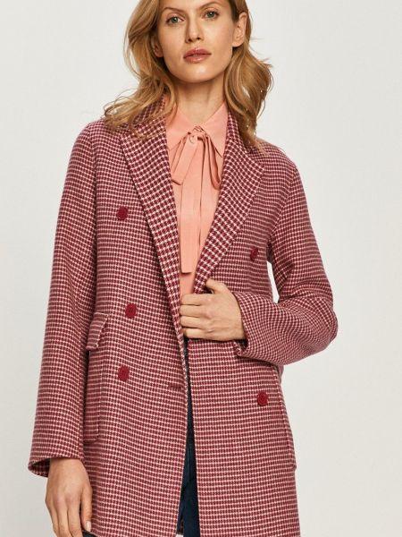 Шерстяная куртка двубортная с карманами Max&co
