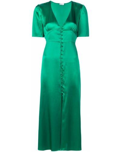 Приталенное платье миди на пуговицах Beau Souci