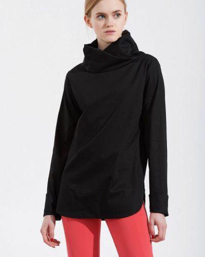 Блузка черная весенний W8less