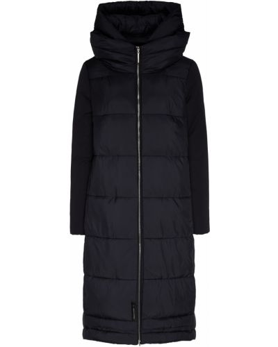 Пальто с капюшоном стеганое оверсайз Milamarsel