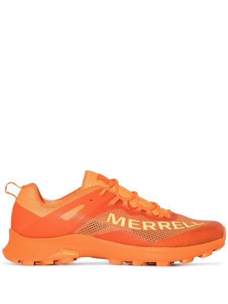 Pomarańczowy top koronkowy sznurowany Merrell