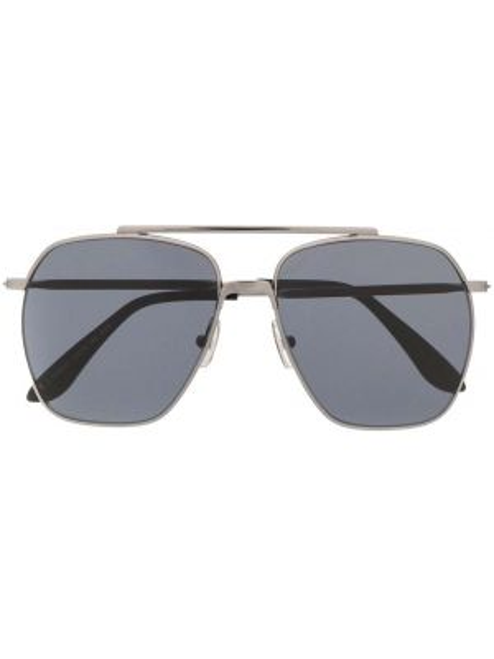 Okulary srebrne - czarne Acne Studios