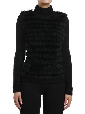 Шерстяной свитер - черный Gf Ferre