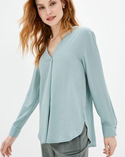 Бирюзовая блузка с длинными рукавами Villagi