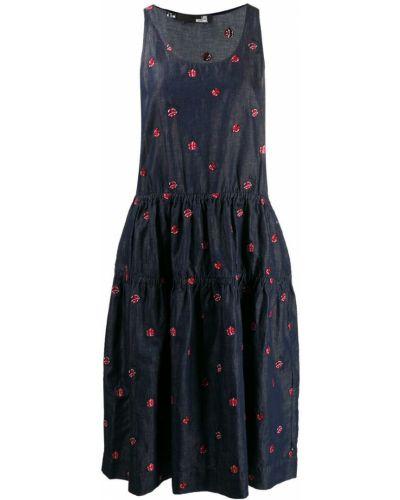 1d42c1b7c8f297f Купить джинсовые платья с вышивкой в интернет-магазине Киева и ...