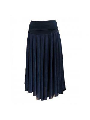 Spódnica trapezowa - niebieska Look Made With Love