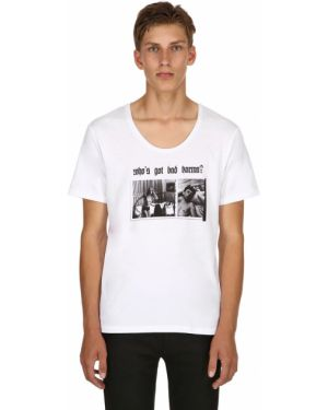 Biały t-shirt Alexander Digenova