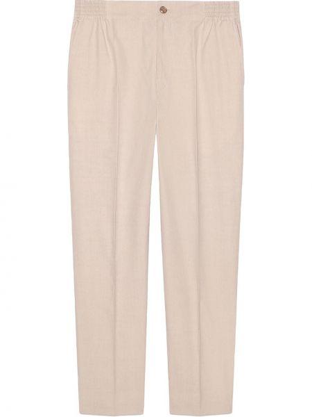 Klasyczny bawełna bawełna biały majtki Gucci