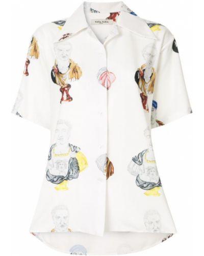Рубашка с коротким рукавом классическая с принтом Tata Naka