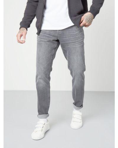 Приталенные джинсы стрейч на молнии George