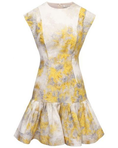 Льняное платье - желтое Zimmermann