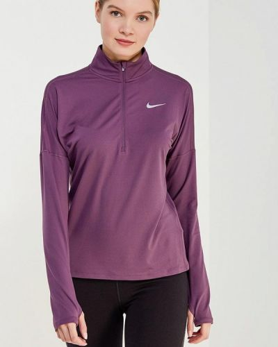 Фиолетовый спортивный лонгслив Nike