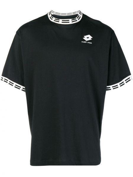 Черная футболка Damir Doma