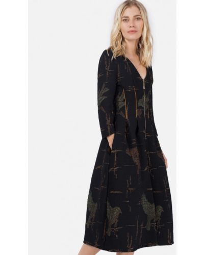 Платье - черное Jn