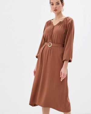 Платье - коричневое Sweewe