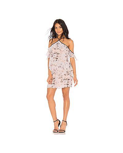 Платье розовое с вырезом Bcbgeneration