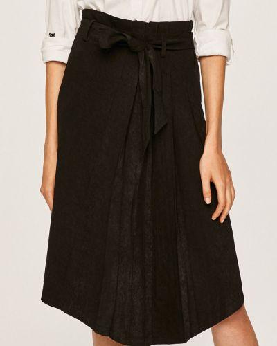 Spódnica z wzorem czarna Answear