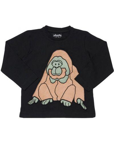 Bawełna bawełna czarny koszula Infantium Victoria