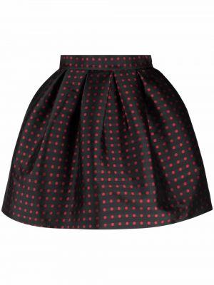 Черная юбка в горошек P.a.r.o.s.h.