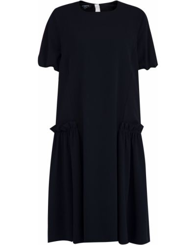 Платье с оборками на молнии Rochas