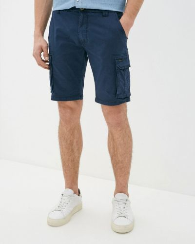 Повседневные синие шорты Blend