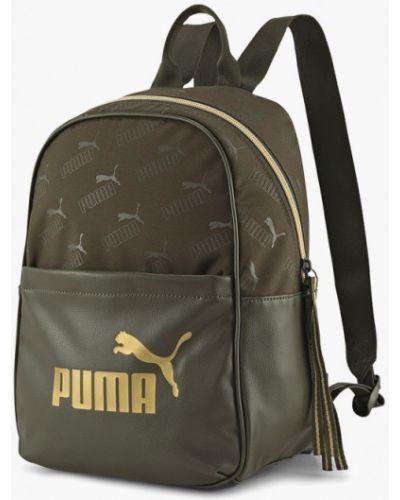 Коричневый рюкзак из искусственной кожи Puma