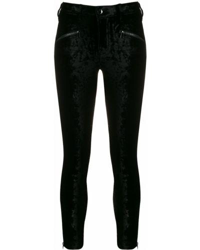 Укороченные брюки зауженные с завышенной талией J Brand