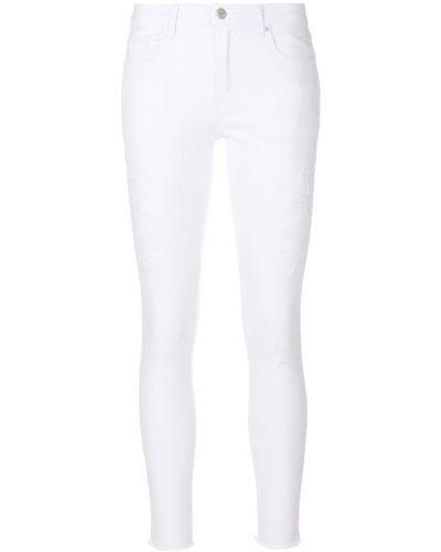 Зауженные джинсы - белые Steffen Schraut