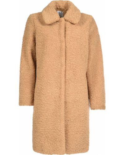 Пальто из полиэстера - бежевое Zoe Karssen