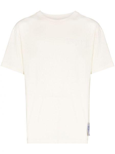 Biała t-shirt bawełniana Satisfy