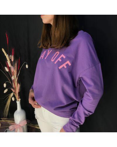 Фиолетовая свитшот Ovs