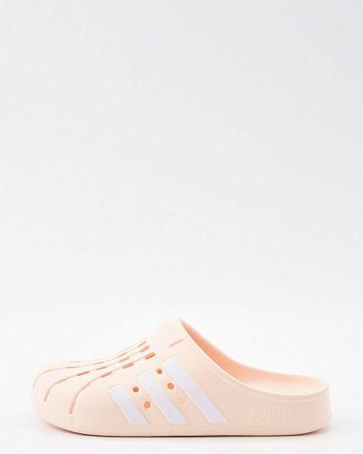 Розовые сабо Adidas
