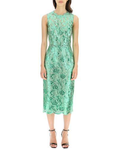 Zielona sukienka Dolce And Gabbana