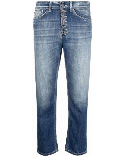 Синие джинсы из полиэстера Dondup