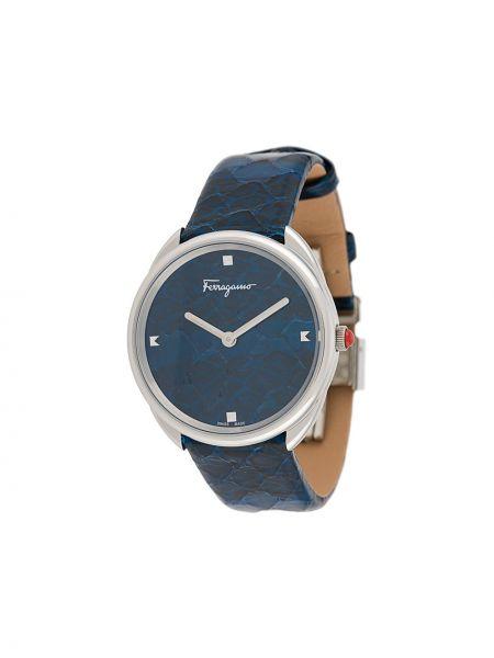 Zegarek szary srebrny Salvatore Ferragamo Watches