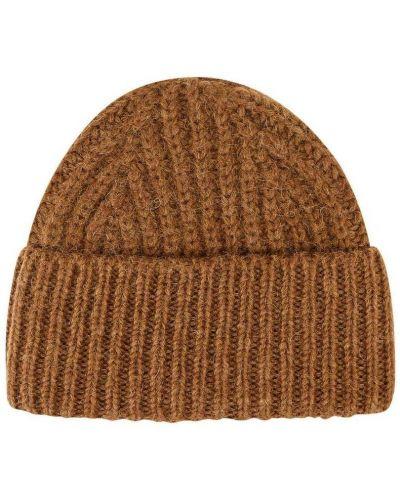 Brązowa czapka Closed
