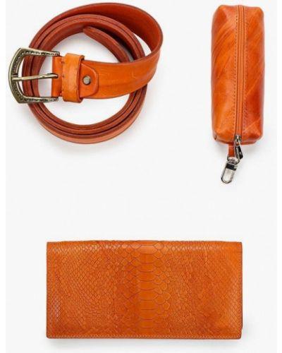 Оранжевый кошелек Alexander Tsiselsky